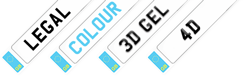 Legal, Colour, 3D Gel & 4D Plates